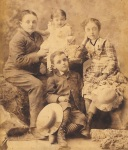 1884 James, Emma, Archie and KathleenBeatty