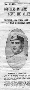Harold Luke Forster 1915
