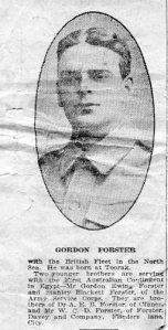 Gordon Ewing Forster 1915