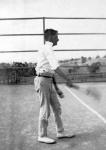 1921 Harold on tenniscourt