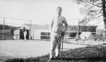 1921 Stan on tennis court