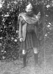 Archibald Beatty in fancy dress as a Scot c. 1922