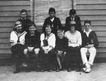 Winifred Blair; Harold Beatty and Peggy Beatty at Anglesea, Victoria, c. 1922