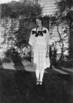 Margaret Constance Norris (Peggy) Beatty at Carron Vale, Mooroolbark, Victoria c. 1925