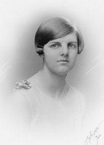 Margaret Constance Norris (Peggy) Beatty c1930. Photo by Lafayette, Melbourne
